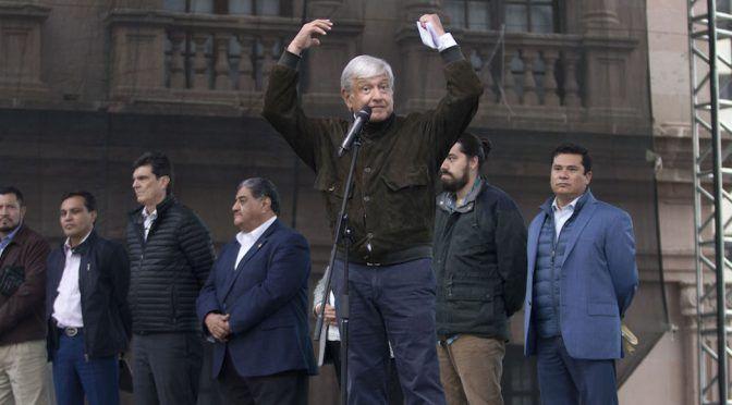 AMLO dice NO al fracking en Coahuila, junto al Gobernador Riquelme, uno de sus grandes promotores (Sin Embargo)