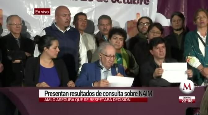 Santa Lucía le gana a Texcoco en consulta sobre NAIM (Milenio)