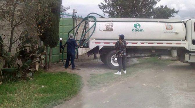 70 pozos y cisternas afectados por combustible en San Cristóbal Huichochitlán (Milenio)