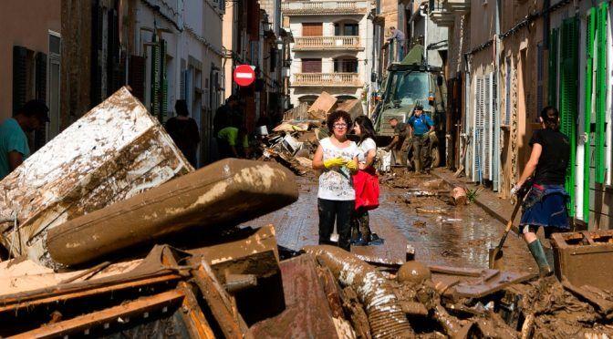Suben a 12 los muertos por inundaciones en Mallorca (La Jornada)