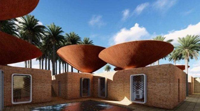 Diseños de tejados para contrarrestar la escasez de agua (La Verdad)