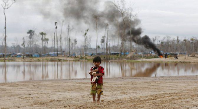Los humanos ponemos en peligro un tercio de las reservas naturales de la Tierra (El País)