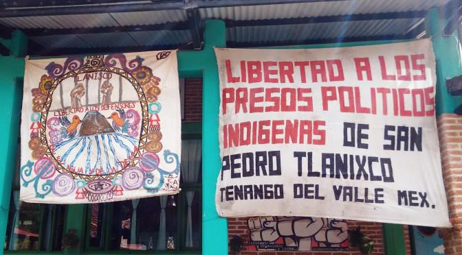 CdMx: Con campaña cultural piden liberación de presos de Tlanixco (La Jornada)