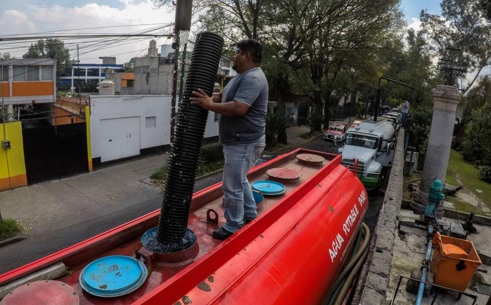 Brugada prevé crisis de agua en Iztapalapa por corte extendido (Milenio)