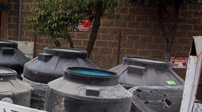 Si no regresa el agua habrá suspensión de clases otra vez (Milenio)