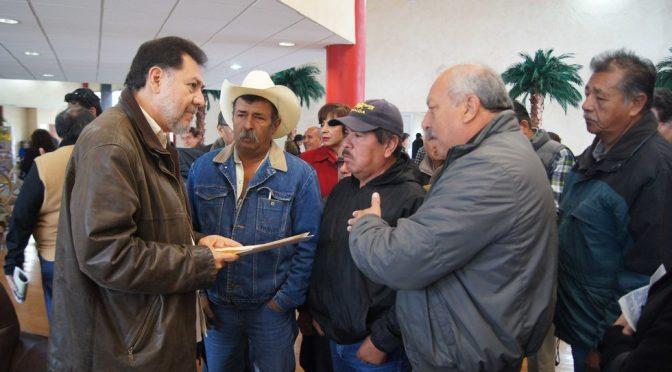 Se prohibirá el fracking en México, asegura Fernandez Noroña en Coahuila ( Vanguardia MX)