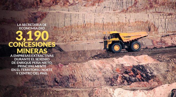 Las concesiones mineras con EPN las monopolizaron 4 favoritos: Baillères, Ancira, Larrea y Slim (Sin Embargo)