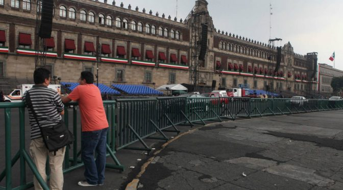 CdMx: Reabre Palacio Nacional tras escasez de agua (Proceso)