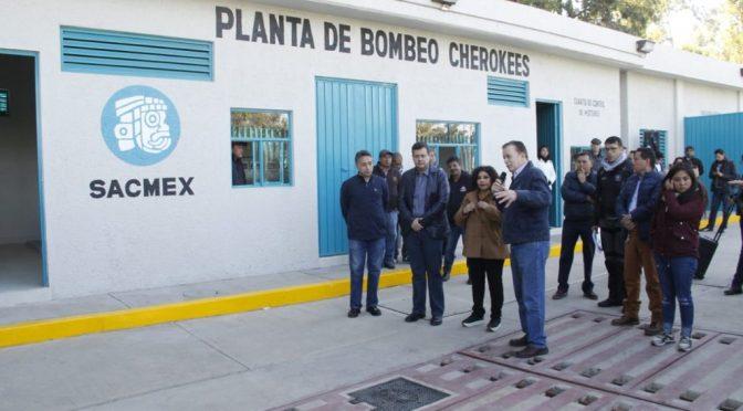 CdMx: Inician operaciones plantas de bombeo y potabilizadora (La Jornada)