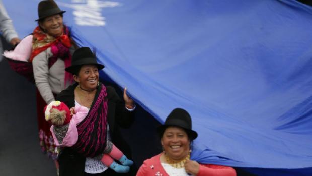 Ecuador: Exigen derecho al agua con marcha (El Diario de Coahuila)