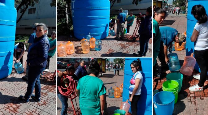 Del sábado al domingo, abasto total de agua (La Jornada)