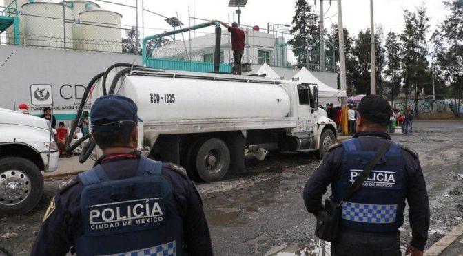 SSP prepara operativo por corte de agua en CdMx (Milenio)