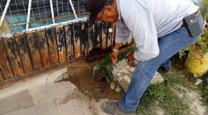 Clausura Interapas tomas clandestinas de agua (El Sol de San Luis)