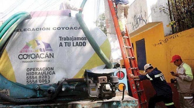 Vecinos de Coyoacán proponen otro manejo de agua (Excélsior)
