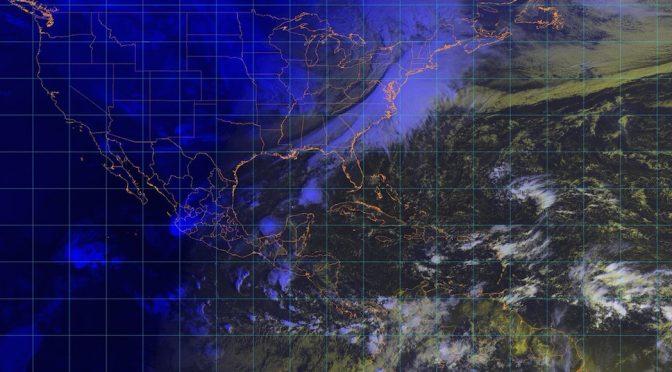 """CdMx: La tormenta tropical """"Xavier"""" se aleja de las costas mexicanas; generará fuertes lluvias y ráfagas de viento (Sin Embargo)"""
