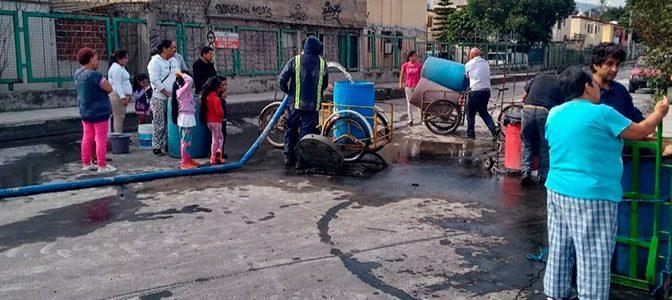 La crisis del agua en México (CONACYT)