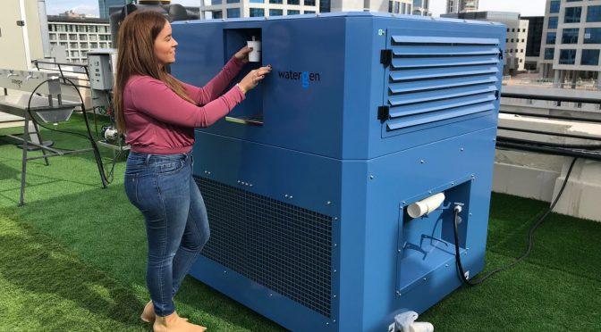 Esta startup israelí convierte el aire en agua (El Financiero)