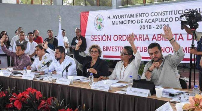 Trasladan a Renacimiento sesión abierta de Cabildo; agua y drenaje, algunas demandas (La Jornada Guerrero)