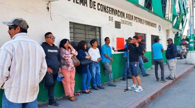 Apagan en Zacatepec las bombas de agua (El Sol de Cuautla)