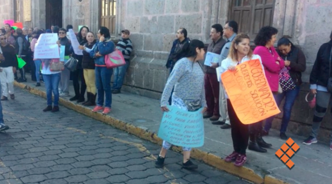 Piden agua potable y reducción de costos con bloqueo en Morelia (Quadrantin)