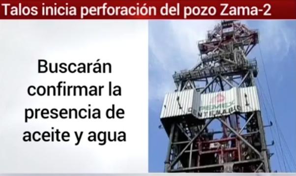 Talos inicia perforación del pozo Zama-2 (Milenio)