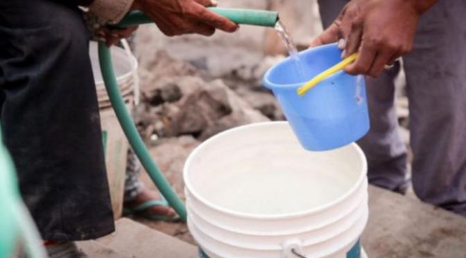 Tamaulipas: Falta agua a 100 mil en el estado (El Diario de Ciudad Victoria)
