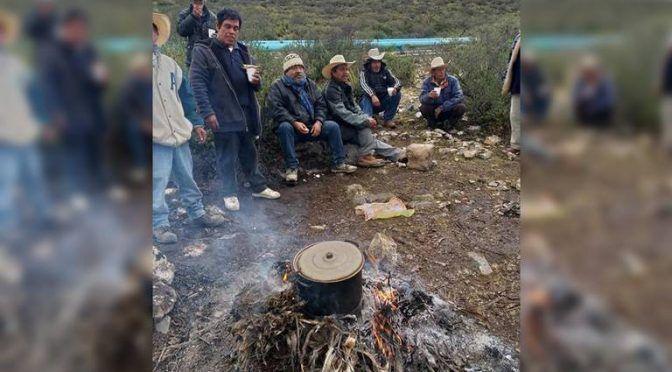 """San Luis Potosí: Ejidatarios de """"La Presa"""" se mantienen bloqueo a obras de Conagua (El Sol de San Luis)"""