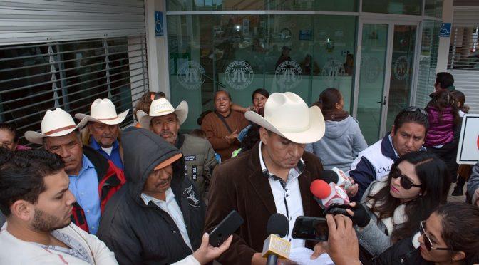 Campesinos en Zacatecas se manifiestan por construcción de presa (La Jornada)