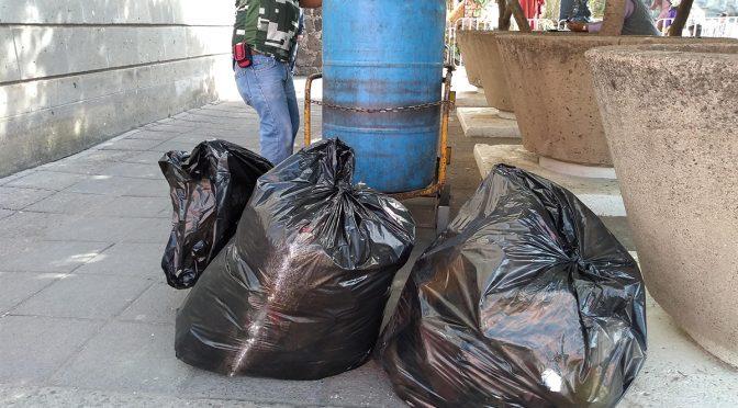 Irapuato: Aplauden prohibición de bolsas de plástico (Periódico Correo)