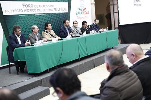 Tello: Sistema Milpillas abastecería agua durante 50 años a municipios que concentran la mayor densidad poblacional (La Jornada Zacatecas)