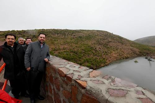 Zacatecas: Tello inaugura la presa número 11 de su gobierno; invierten 9.2 mdp (La Jornada)