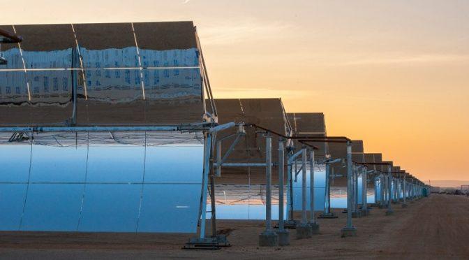 España: La energía termosolar renace con más fuerza que nunca (Ecoticias)