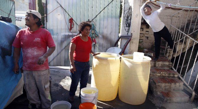 CdMx: Revertir el desabasto y reparar fugas de agua, retos del nuevo gobierno (La Jornada)