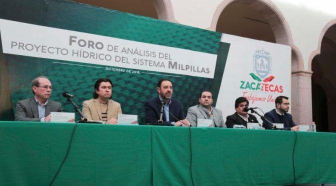 Gobernador de Zacatecas debate sobre presa Milpillas (La Jornada)