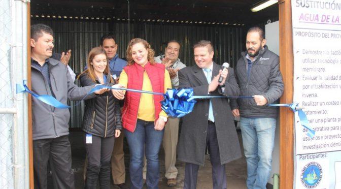 Inauguran sistema de tratamiento terciario de aguas residuales (Omnia)