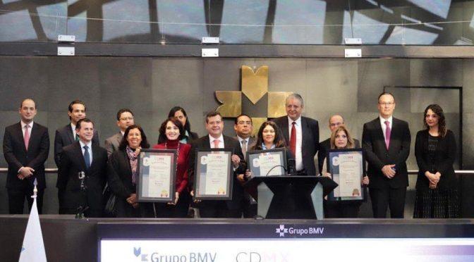 CdMx coloca Bono Verde por mil 100 mdp (Milenio)