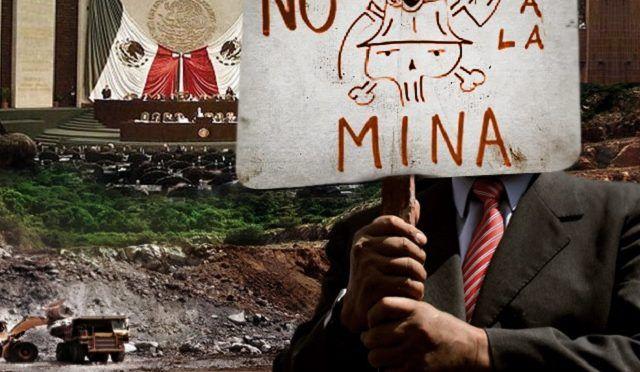 Suspender concesiones a mineras en Puebla, piden en San Lázaro (e-Consulta)