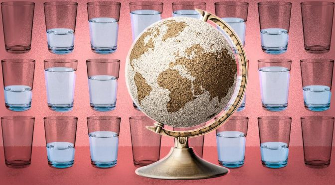Mundo: El mapa que muestra los países que se están quedando sin agua (La Vanguardia)