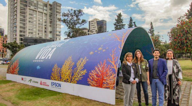 Epson promueve el cuidado del agua en Ecuador (Milenio)