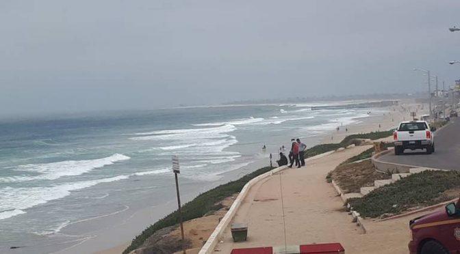 Baja California: Realizan cierre en playas por descarga de aguas residuales (El Sol de Tijuana)