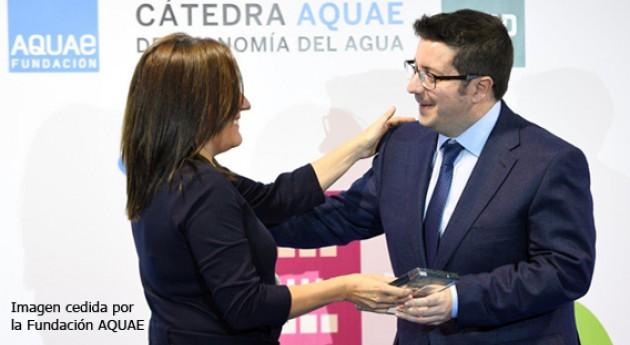 """Una investigación del IIAMA premiada por la """"Cátedra Aquae de Economía del Agua"""" (iAgua)"""