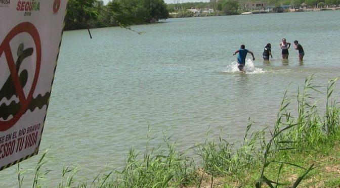 Cambio climático está secando el Río Bravo, señalan expertos (Milenio)