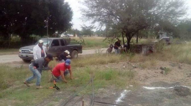 Con tanque elevado evitarán la falta de agua en poblados de Ébano (El Sol de San Luis)