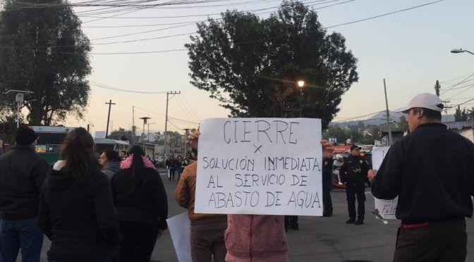 CdMx: Manifestantes bloquean avenida División del Norte (Milenio)