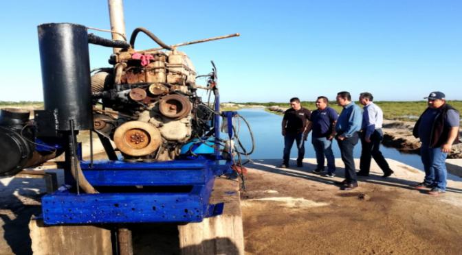 Sinaloa: Entregan bomba para suministro de agua marina a granja acuícola (TV Pacífico)