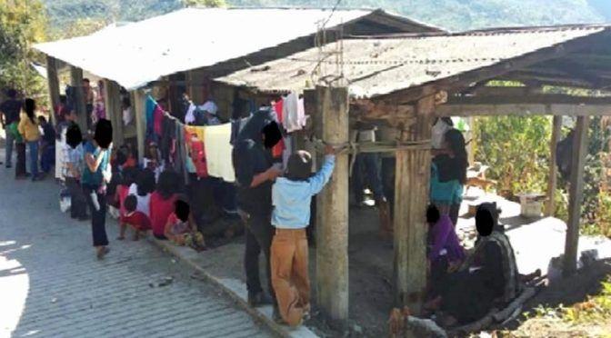 Sufren desplazados olvido en Chiapas (Zócalo)