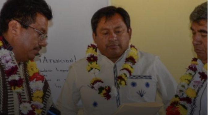 Nombran a coordinador de pueblos indígenas en zona Mixe de Oaxaca (Eje Central)