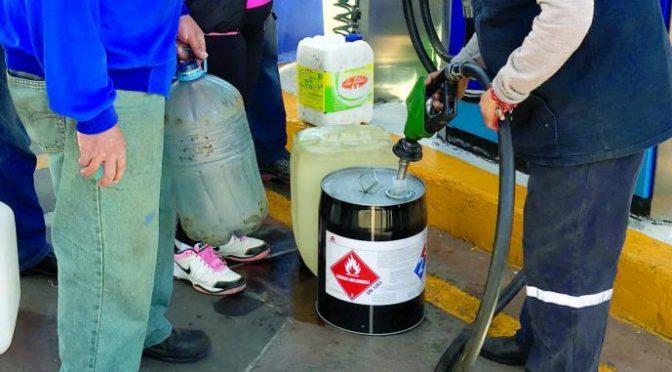 Desabasto de combustible pone en riesgo la salud y el ambiente (El Gráfico)