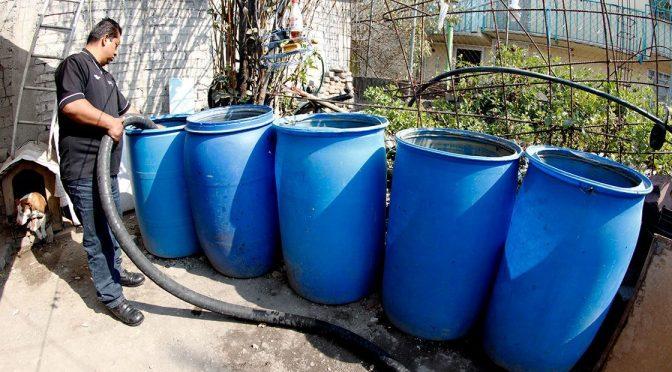 Complejo panorama para acceso al agua (El Economista)