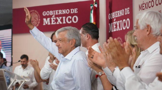 Supervisa AMLO presa en Sinaloa (Zócalo)